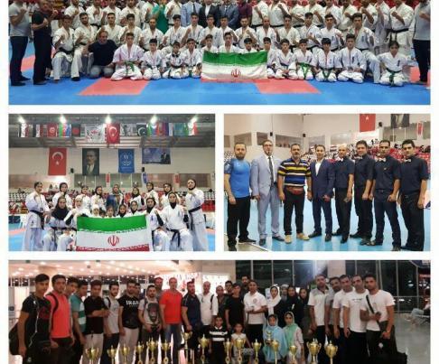 قهرمانی تیم کیوکوشین KWF ایران در مسابقات جهانی ترکیه 2018