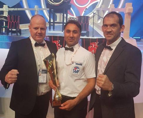 شیهان منصوری فرد -مسابقات جهانی کیوکوشین